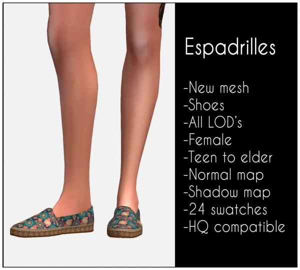 Lazyeyelids: Espadrilles