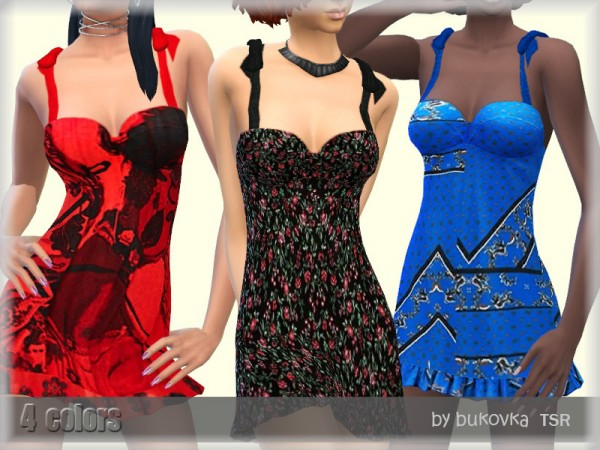 The Sims Resource: Sundress and Frill by bukovka