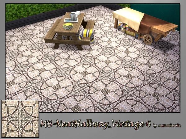 The Sims Resource: Neat Hallway Vintage 6 by matomibotaki