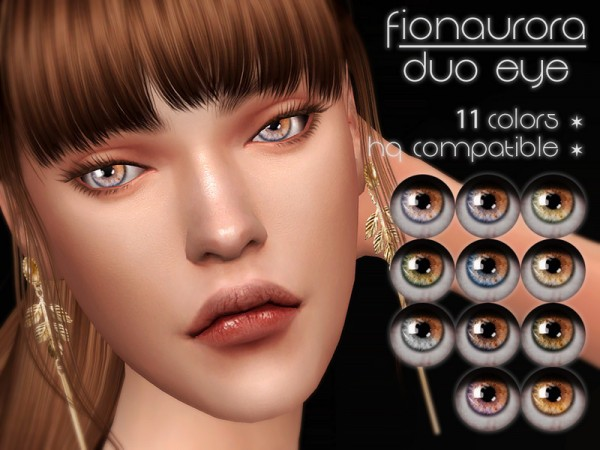 The Sims Resource: Duo Eye by fionaurora