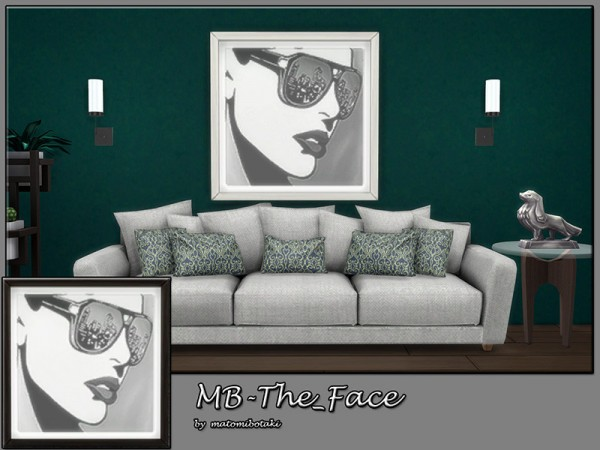 The Sims Resource: The Face paints by matomibotaki