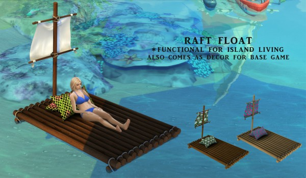 Leo 4 Sims: Raft Float