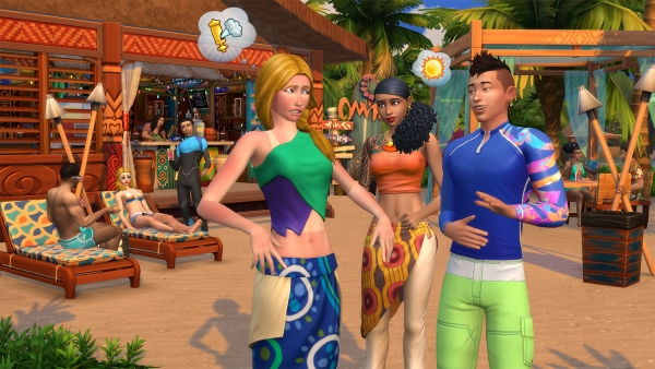 Sims Artists: Island Paradise