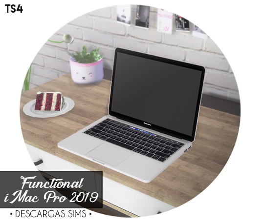 Descargas Sims: MacBook Pro 2019   Functional
