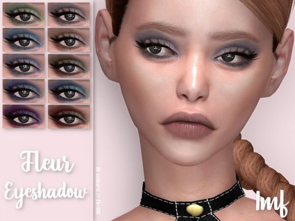 The Sims Resource: Fleur Eyeshadow N.90 by IzzieMcFire