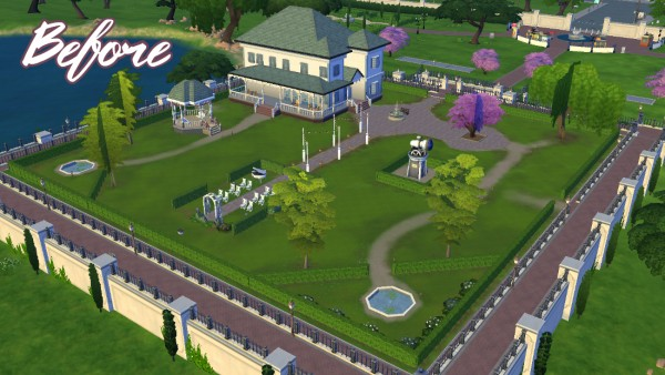Mod The Sims: Myshuno Estate and Gardens Event Venue by JudeEmmaNell