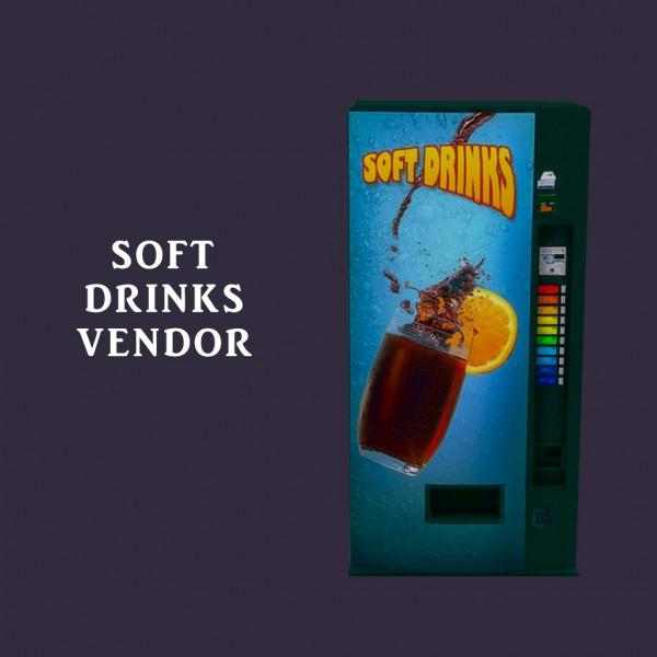 Leo 4 Sims: Soft Drinks Vendor