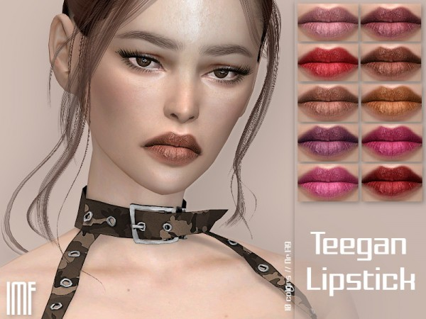 The Sims Resource: Teegan Lipstick N.179 by IzzieMcFire