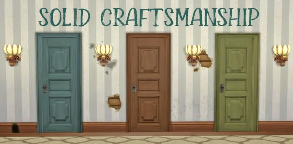 Hamburgercakes: Solid Craftsmanship Door