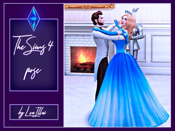 The Sims Resource: Waltz dance pose by LeaIllai