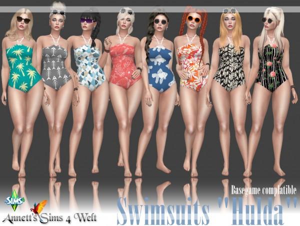 Annett`s Sims 4 Welt: Swimsuits Hulda