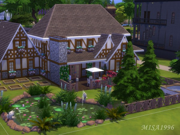 The Sims Resource: Tudor house by Misa1996