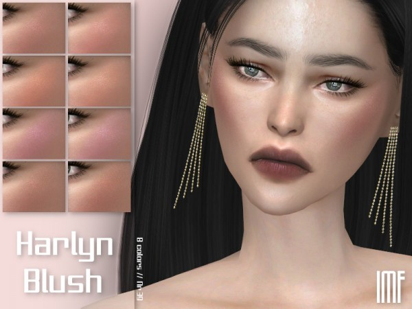 The Sims Resource: Harlyn Blush N.39 by IzzieMcFire