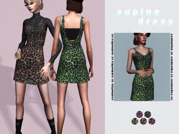 The Sims Resource: Supine dress by cosimetics