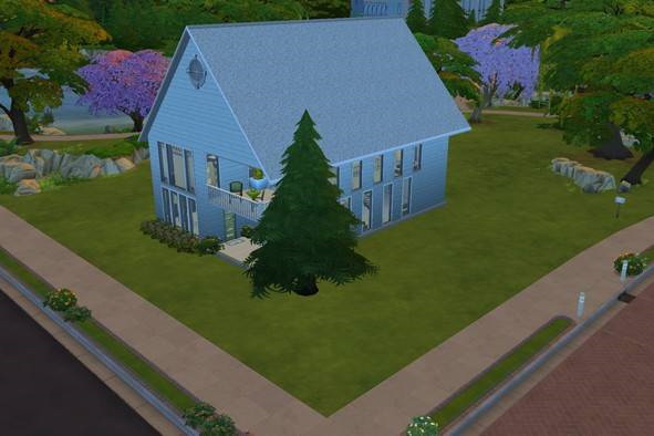 Luniversims: 2 Bedroom Family Home by  Subject Unkown