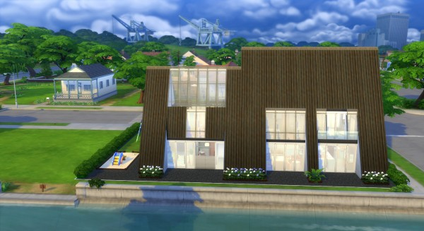 Mod The Sims: Pyramide House by valbreizh
