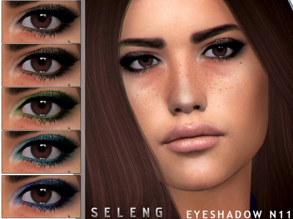 The Sims Resource: Eyeshadow N11 by Seleng
