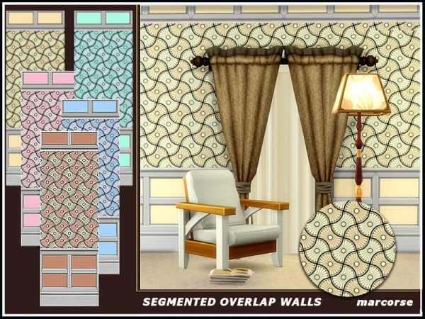 The Sims Resource: Segmented Overlap Walls by marcorse
