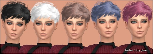 All by Glaza: Hair 11