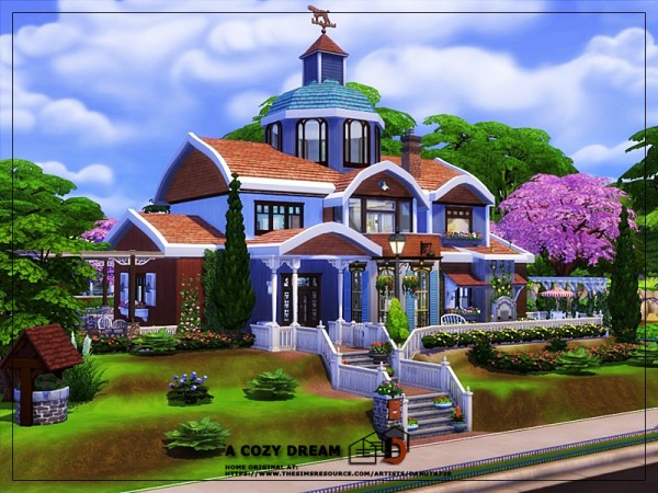 The Sims Resource: A cozy dream house by Danuta720
