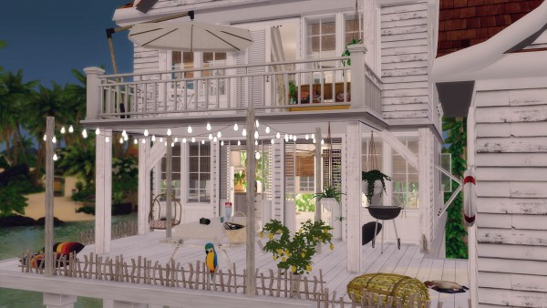 Ideassims4 Art 43 Tyree Island Living House Sims 4 Downloads