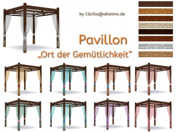 Akisima Sims Blog: Place of bliss Pavillon by Cacilia