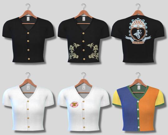 Descargas Sims: Button Up Shirts