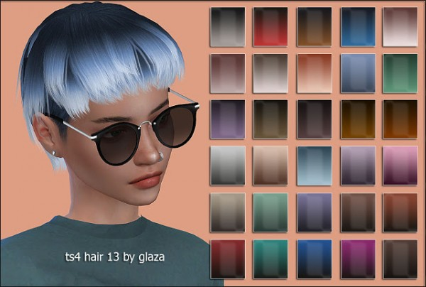 All by Glaza: Hair 13