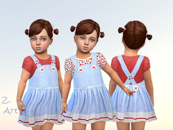 The Sims Resource: BabeZ. 66 pretty outfit by Zuckerschnute20