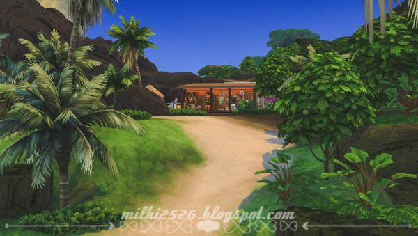 Milki2526: Volcano hut