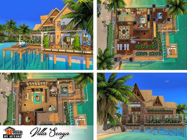 The Sims Resource: Villa Seaya by Autaki