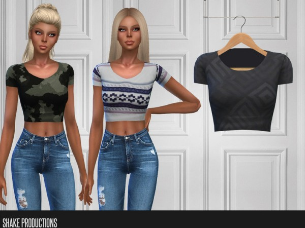 The Sims Resource: 299   T Shirt by ShakeProductions