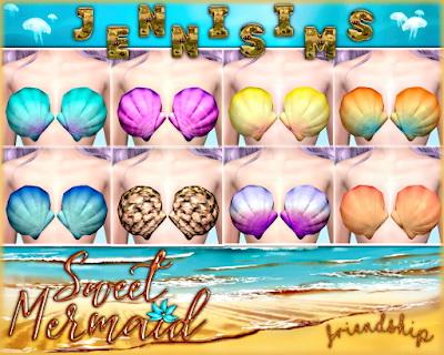 Jenni Sims: Mermaid Top