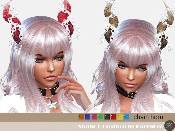 Studio K Creation: Chain horn