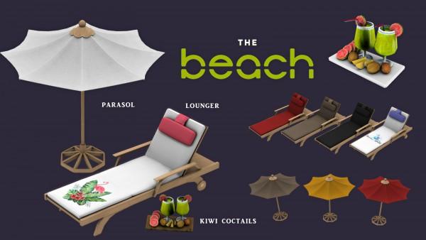 Leo 4 Sims: The Beach