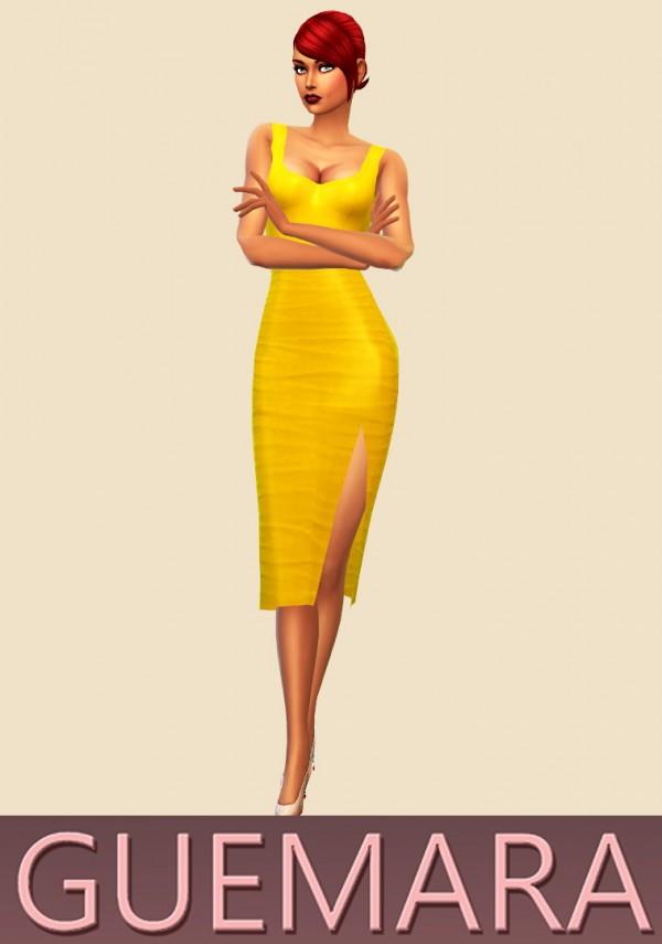 Guemara: Drapped dress