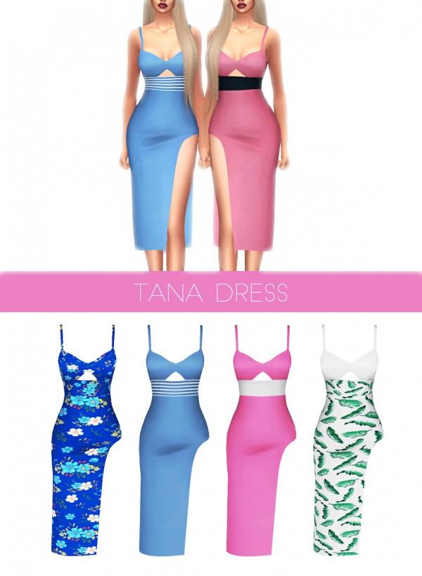 Kenzar Sims: Tana Dress