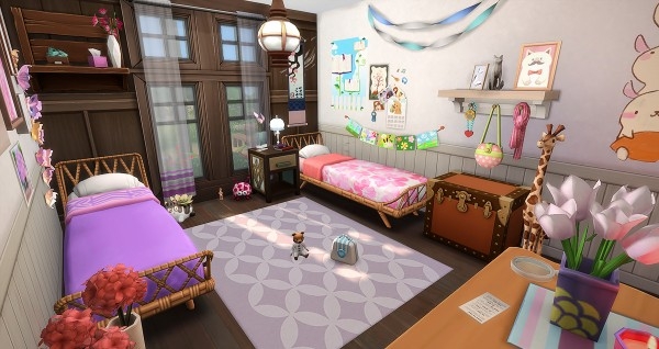 Simsontherope: Accalmie House