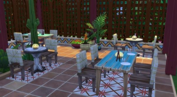 Sims Artists: Restaurant Las delicias de Selvadorada