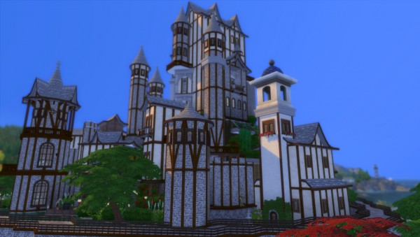 Mod The Sims: The Lifted Kingdom   NO CC by wouterfan