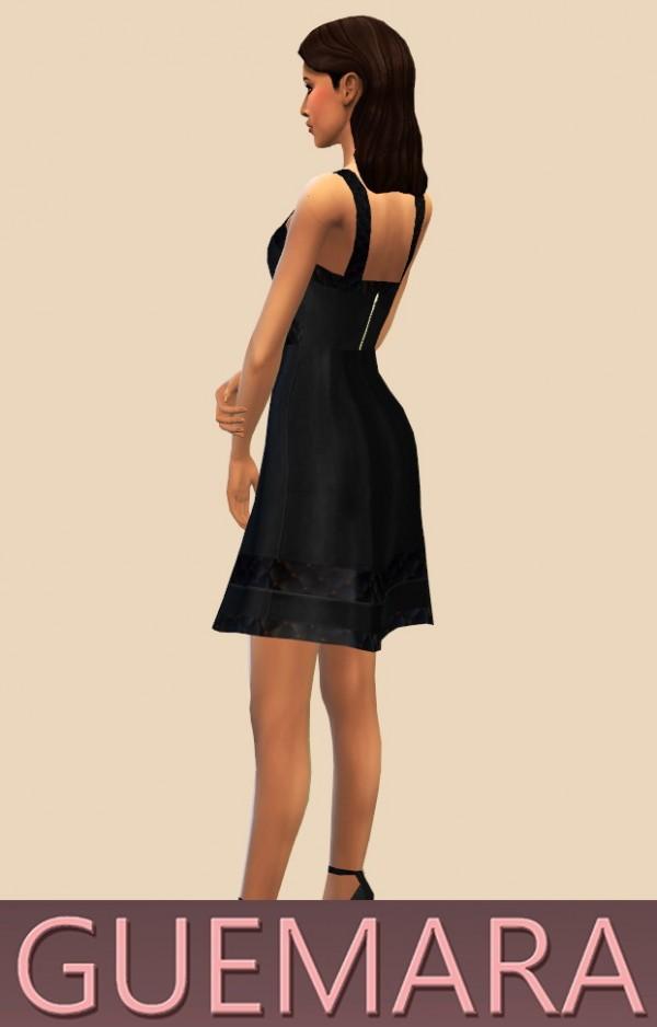 Guemara: Dress with ribbons