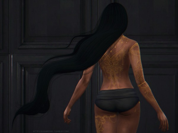 The Sims Resource: Charming Ornaments Tattoo by sugar owl