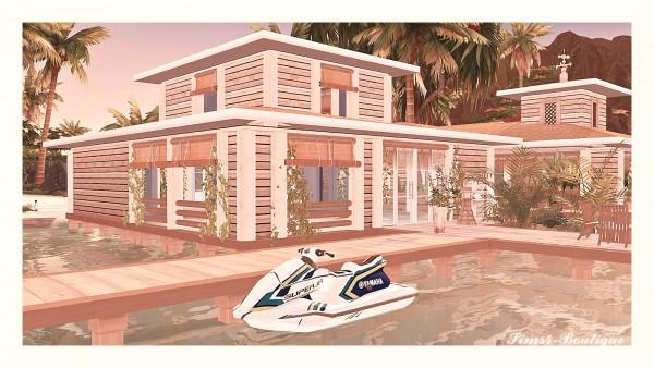 Sims4 boutique: Yamaha Jetski