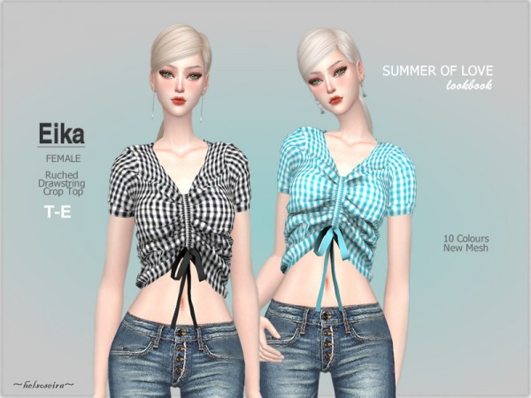 The Sims Resource: Arlene   Shirt Accesory by laupipi