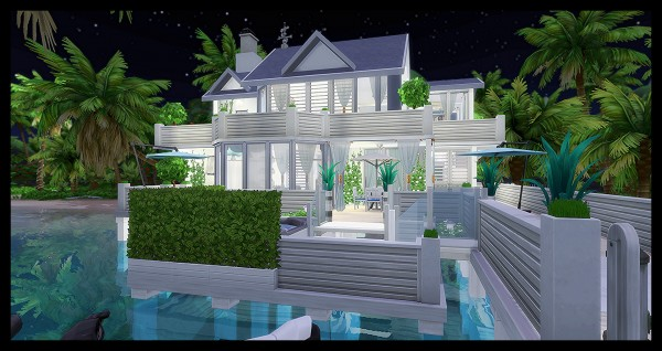 Luniversims: Modern House by Loulou TonHomme