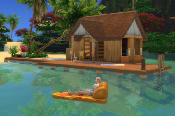 Blackys Sims 4 Zoo: Saphir Starter House by mammut