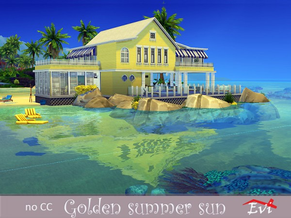 The Sims Resource: Golden Summer Sun by evi