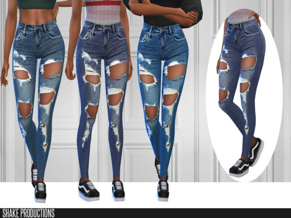 The Sims Resource: 301   Jeans by ShakeProductions