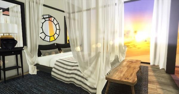 Liney Sims: Modern Beach Bedroom