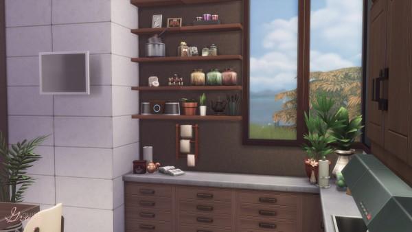 Gravy Sims: Cozy Modern Kitchen